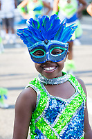 Lil Smiley, Washington Diamonds Drill Team, Seafair Torchlight Parade, Seattle, WA, USA.