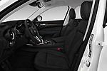 Front seat view of a 2019 GMC Sierra 1500 SLT 4 Door Pick Up