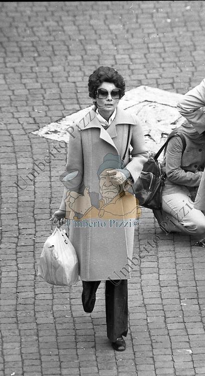 AUDREY HEPBURN<br /> ROMA 1976