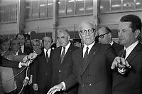 Voyage de G. Pompidou à Toulouse. (1971)