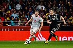 Jorge Koke of Spain (L) in action against Giovani Lo Celso of Argentina (R) during the International Friendly 2018 match between Spain and Argentina at Wanda Metropolitano Stadium on 27 March 2018 in Madrid, Spain. Photo by Diego Souto / Power Sport Images
