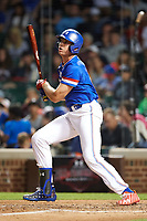 Triston Casas (26) of American Heritage High School in Pembroke Pines, Florida at bat during the Under Armour All-American Game presented by Baseball Factory on July 29, 2017 at Wrigley Field in Chicago, Illinois.  (Mike Janes/Four Seam Images)
