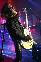 **FILE PHOTO** Jeff LaBar Has Passed Away At 58.<br /> <br /> FORT LAUDERDALE, FL - AUGUST 07: Jeff LaBar of Cinderella performs at Revolution on August 7, 2010 in Fort Lauderdale, Florida. <br /> <br /> Hoo-Me.com / MediaPunch<br /> CAP/MPI122<br /> ©MPI122/Capital Pictures