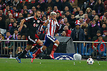 Atletico de Madrid´s Griezmann during the UEFA Champions League round of 16 second leg match between Atletico de Madrid and Bayer 04 Leverkusen at Vicente Calderon stadium in Madrid, Spain. March 17, 2015. (ALTERPHOTOS/Victor Blanco)