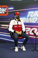12th November 2020; Istanbul Park, Istanbul, Turkey;   FIA Formula One World Championship 2020, Grand Prix of Turkey, 99 Antonio Giovinazzi ITA, Alfa Romeo Racing ORLEN pre race press conference