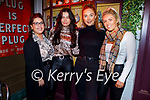Nicole Rusk, Sarah Griffin, Rebecca Stack and Christina Foley enjoying the evening in Molly Js in Benners Hotel on Friday.