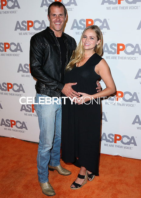BEL AIR, CA, USA - OCTOBER 22: Pete Hieatt, Stephanie McIntosh arrives at the 2014 ASPCA Compassion Award Dinner Gala held at a Private Residence on October 22, 2014 in Bel Air, California, United States. (Photo by Xavier Collin/Celebrity Monitor)