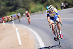 Jarl Salomein (BEL) Topsport Vlaanderen-Baloise makes a last ditch effort during Stage 6 of the 2015 Presidential Tour of Turkey running 184km from Denizli to Selcuk. 30th April 2015.<br /> Photo: Tour of Turkey/Mario Stiehl/www.newsfile.ie