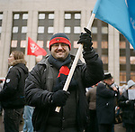Mass rally against election fraud in central Moscow