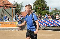 FIERLJEPPEN: IJLST: 22-08-2020, Fierljeppen FK jeugd IJlst, ©foto Martin de Jong