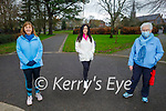 Enjoying a stroll in the Tralee town park on Saturday, l to r: Aileen Bulman, Amy McLoughlin and Siobhan Horgan