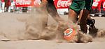 XX Trofeo Ciudad de Valencia de Futbol Playa.<br /> Playa de Las Arenas - Valencia (España).<br /> 4 de agosto de 2013.