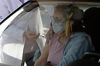 Campinas (SP), 24/05/2021 - Covid-19 - Vacinação contra a Covid-19 na cidade de Campinas, interior de São Paulo, na manha desta segunda-feira (24). Com o registro de 860 mortes nas últimas 24 horas, o Brasil se aproxima de 450 mil vidas perdidas para a Covid-19.