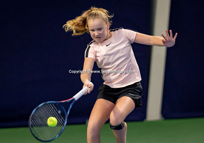 Hilversum, Netherlands, December 2, 2018, Winter Youth Circuit Masters, Britt du Pree (NED)<br /> Photo: Tennisimages/Henk Koster