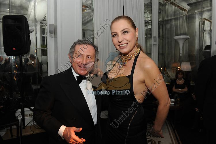 VINCENZO E MARILENA PISTILLI<br /> COMPLEANNO SALVATORE D'AGOSTINO<br /> HOTEL MAJESTIC ROMA 2011