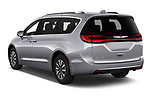 Car pictures of rear three quarter view of 2021 Chrysler Pacifica Touring-L 5 Door Minivan Angular Rear