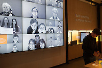 Overall view of the Visitor Center at the Bill and Melinda Gates Foundation in Seattle, Washington, USA on Wednesday, 3 June 2015. (Matt Mills McKnight for Le Monde)