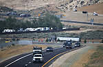 Traffic flows on the final leg of the I-580 bypass in South Carson City, Nev., on Wednesday, Aug. 2, 2017. <br /> Photo by Cathleen Allison/Nevada Photo Source