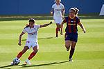 Liga IBERDROLA 2020-2021. Jornada: 12<br /> FC Barcelona vs Sevilla: 6-0.<br /> Inma Gabarro vs Alexia Putellas.