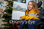 Mikayla O'Sullivan from Ballyheigue who has her award winning picture of a bunny featured in the 2021 My Kerry Biosphere calendar.