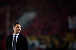Head coach of Guangzhou Evergrande Fabio Cannavaro gives instructions during the Guangzhou Evergrande vs Kashima Antlers as part of the AFC Champions League 2015 Group Stage H match on 18 March, 2015 at Guangzhou Tianhe Sport Center in Guangzhou, China. Photo by Aitior Alcalde / Power Sport Images