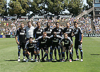 San Jose Earthquakes starting eleven. The San Jose Earthquakes defeated Seattle Sounders FC 4-0 at Buck Shaw Stadium in Santa Clara, California on August 2, 2009.