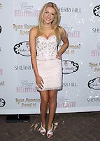 HOLLYWOOD, LOS ANGELES, CA, USA - APRIL 27: Saxon Sharbino at Ryan Newman's 'Glitz and Glam' Sweet 16 Birthday Party held at Emerson Theatre on April 27, 2014 in Hollywood, Los Angeles, California, United States. (Photo by Xavier Collin/Celebrity Monitor)