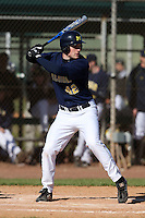 February 28, 2010:  Cam Luther of the Michigan Wolverines during the Big East/Big 10 Challenge at Raymond Naimoli Complex in St. Petersburg, FL.  Photo By Mike Janes/Four Seam Images
