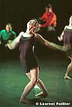 Au théâtre de la Ville de Paris ..Chorégraphie : Angelin Preljocaj..Musique : Igor Stravinski..Scénographie : Thierry Leproust..Lumières : Marion Hewlett..Costumes : Eric Bergere