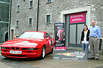 Peter Monahan with the BMW he will drive in the Barretstown Cannonball
