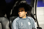 Real Madrid´s Marcelo Vieira 2014-15 Champions League match between Real Madrid and FC Shalke 04 at Santiago Bernabeu stadium in Madrid, Spain. March 10, 2015. (ALTERPHOTOS/Luis Fernandez)