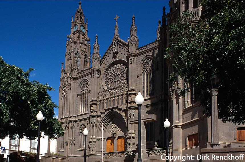 Kathedrale San Juan Bautista in Arucas, Gran Canaria, Kanarische Inseln, Spanien