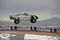 Nov. 4, 2011; Las Vegas, NV USA; LOORRS pro 2 unlimited driver Robby Woods during qualifying for round 13 at the Las Vegas Motor Speedway. Mandatory Credit: Mark J. Rebilas-