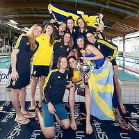 Circolo Canottieri Aniene - 1a classificata<br /> Coppa Caduti di Brema<br /> Finale Nazionale Campionato a Squadre UnipolSai<br /> Riccione Italy 14-18/04/2015<br /> Photo Giorgio Scala/Deepbluemedia/Insidefoto