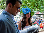 Scenes from around the track at Saratoga Race Course on Travers Stakes Day in Saratoga Springs, New York on August 25, 2012.