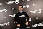 Spanish comedian and actor Julian Lopez attends the photocall of the end of filming of the movie 'Torrente 5'. March 11, 2014. (ALTERPHOTOS/Acero)