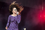 © Joel Goodman - 07973 332324 . 06/06/2015. Manchester , UK. ELLA EYRE performs on the main stage at The Parklife 2015 music festival in Heaton Park , Manchester . Photo credit : Joel Goodman