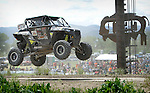 STURGIS, SD - JUNE 13: Trevor McCuen gets some air in the UTV class during the Liberty Super stores/Dakota Customs 250 short course baja race at the Buffalo Chip.  (Photo by Dick Carlson/Inertia)