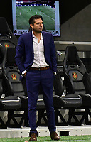 ATLANTA, GA - SEPTEMBER 02: Manager Diego Alonso of Inter Miami CF directs his team during a game between Inter Miami CF and Atlanta United FC at Mercedes-Benz Stadium on September 02, 2020 in Atlanta, Georgia.