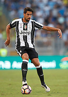 Calcio, Serie A: Lazio vs Juventus. Roma, stadio Olimpico, 27 agosto 2016.<br /> Juventus' Sami Khedira in action during the Serie A soccer match between Lazio and Juventus, at Rome's Olympic stadium, 27 August 2016. Juventus won 1-0.<br /> UPDATE IMAGES PRESS/Isabella Bonotto