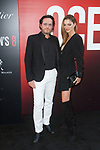 Alexandre de Betak and Sofia Sanchez de Betak arrive at the World Premiere of Ocean's 8 at Alice Tully Hall in New York City, on June 5, 2018.