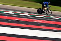 IMOLA, ITALIA - SEPTEMBER 25 : AFFINI Edoardo (ITA) during the Men Elite Individual Time Trial at the UCI 2020 Road World Championships cycling race in Emilia Romagna Imola, Italia, 25/09/2020 ( Photo by Vincent Kalut / Photo News<br /> <br /> Imola 25/09/2020 <br /> Campionati Mondiali Ciclismo 2020 <br /> Cronometro <br /> Photo Vincent Kalut/Photonews/Panoramic/Insidefoto <br /> ITALY ONLY