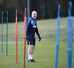 Rangers manager Mark Warburton at training
