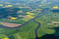 Zusammenfluss von Aller und Weser