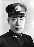 Undated - Isoroku Yamamoto was the commander-in-chief of the Combined Fleet during World War II, a graduate of the Imperial Japanese Naval Academy and a student of the U.S. Naval War College and of Harvard University (1919-1921).  (Photo by Kingendai Photo Library/AFLO)