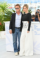 CANNES, FRANCE. July 11, 2021: Sean Penn & Dylan Penn at the photocall for Flag Day at the 74th Festival de Cannes.<br /> Picture: Paul Smith / Featureflash