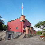 Fort San Domingo Which Served For A Time As The Consulate Office And Residence In Tamsui, Taiwan.  The Consul's Residence Is Partially Visible To The Rear.
