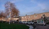 Nederland  Amsterdam -  2020. Amsterdam Noord. Tuttifruttidorp. Woningen van woningcorporatie Rochdale.   Foto : ANP/ HH / Berlinda van Dam