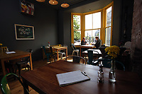 FAO SHAAKIRA, METRO<br />Pictured: Interior view of the seating area. Saturday 20 May 2017<br />Re: Jack Daniels Promotion, 29 Park Place in Cardiff, Wales, UK.