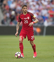 Commerce City, CO - Thursday June 08, 2017: Geoff Cameron during a 2018 FIFA World Cup Qualifying Final Round match between the men's national teams of the United States (USA) and Trinidad and Tobago (TRI) at Dick's Sporting Goods Park.